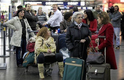 Flight cancellations at Argentina airport