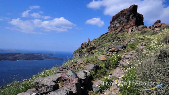 Small trek near Fira