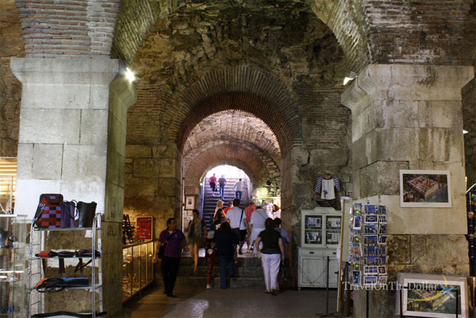 Diocletian's Palace Vestibule, Split