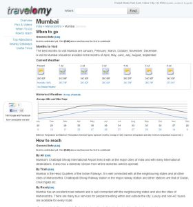 Travelomy - When To Go