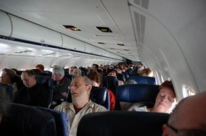 Sleeping passengers