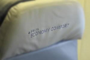 Delta's Economy Comfort