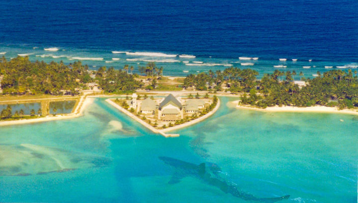 Kiribati parliament house, Tarawa