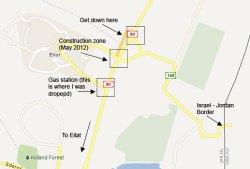 Israel - Jordan Border (Click to view)