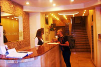 Reception of Guzel Hotel
