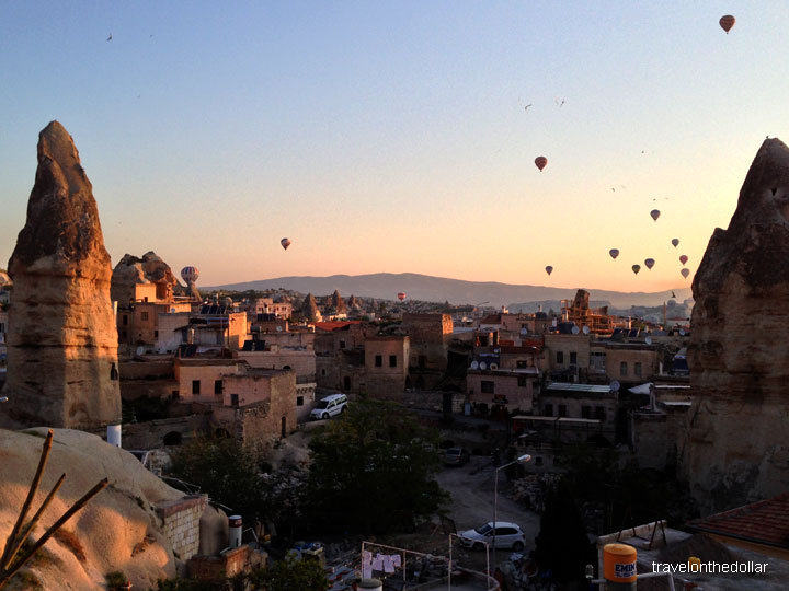 Hot-air Balloons over Göreme