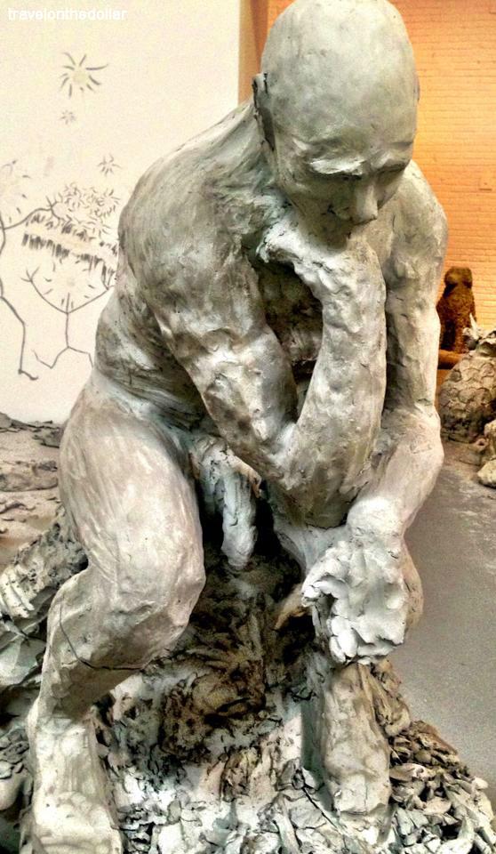 Urs Fischer at MOCA, Los Angeles