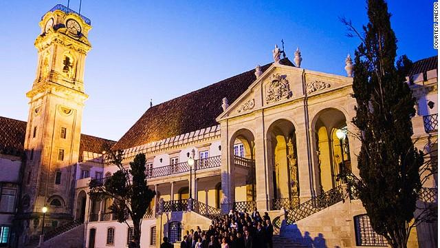 University of Coimbra -- Alta and Sofia (Portugal)
