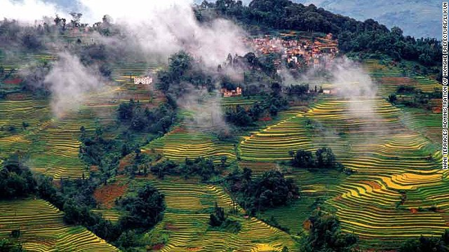 Cultural Landscape of Honghe Hani Rice Terraces (China)