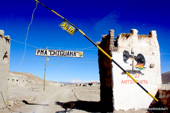 Border Town between Chile and Bolivia