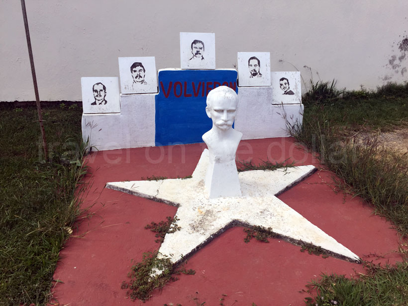 Jose Marti memorial in Viñales