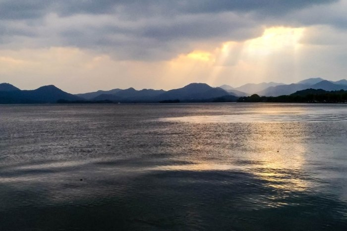 West Lake in Hangzhou, China