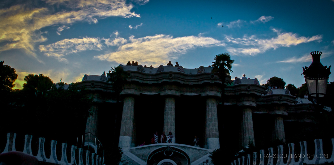 Sunset at Parc Guell