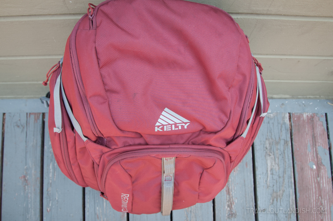 The Best Travel Backpack - Top View of Kelty Redwing 50