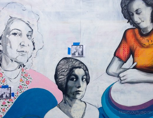 3 Women Mural in Clarion Alley
