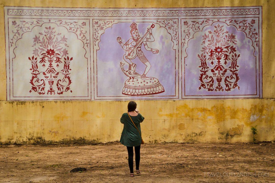 Mural in Jaipur