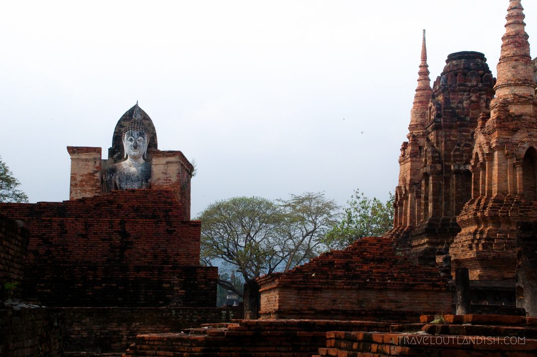 Sukothai vs Ayutthaya - Looking out at Sukothai