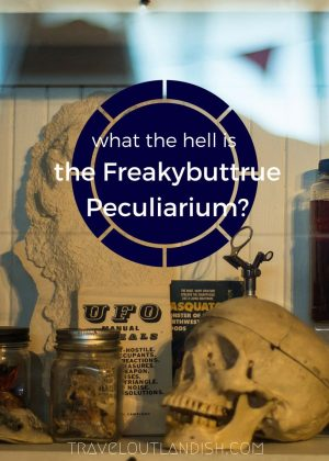 What the hell is the Freakybuttrue Peculiarium? It's definitely one of the most bizarre things to do in Portland. Check it!