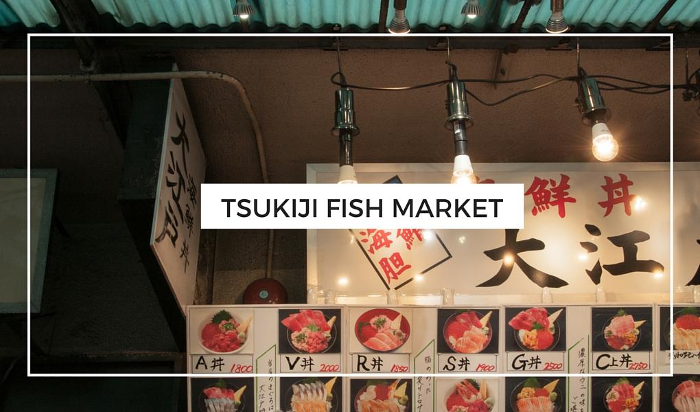 Everything Tokyo - Tsukiji Fish Market + Travel Video