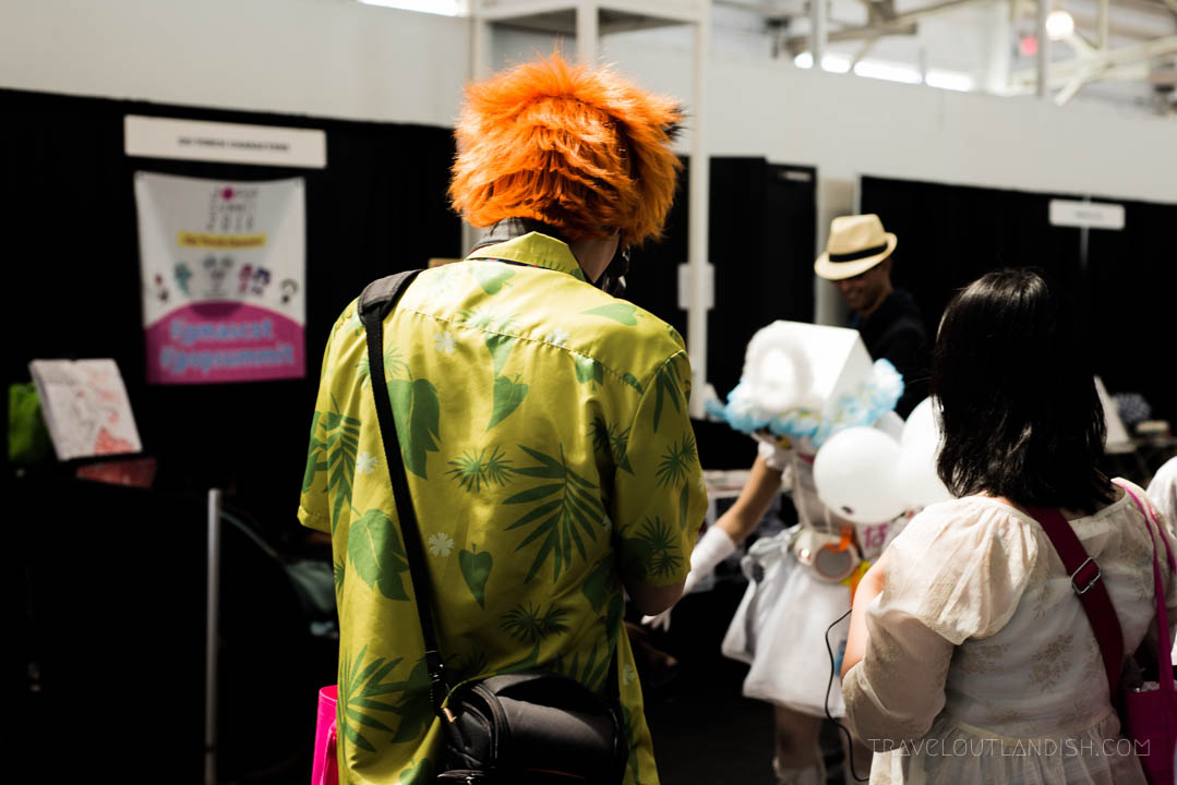 Cosplay at the J-POP Festival