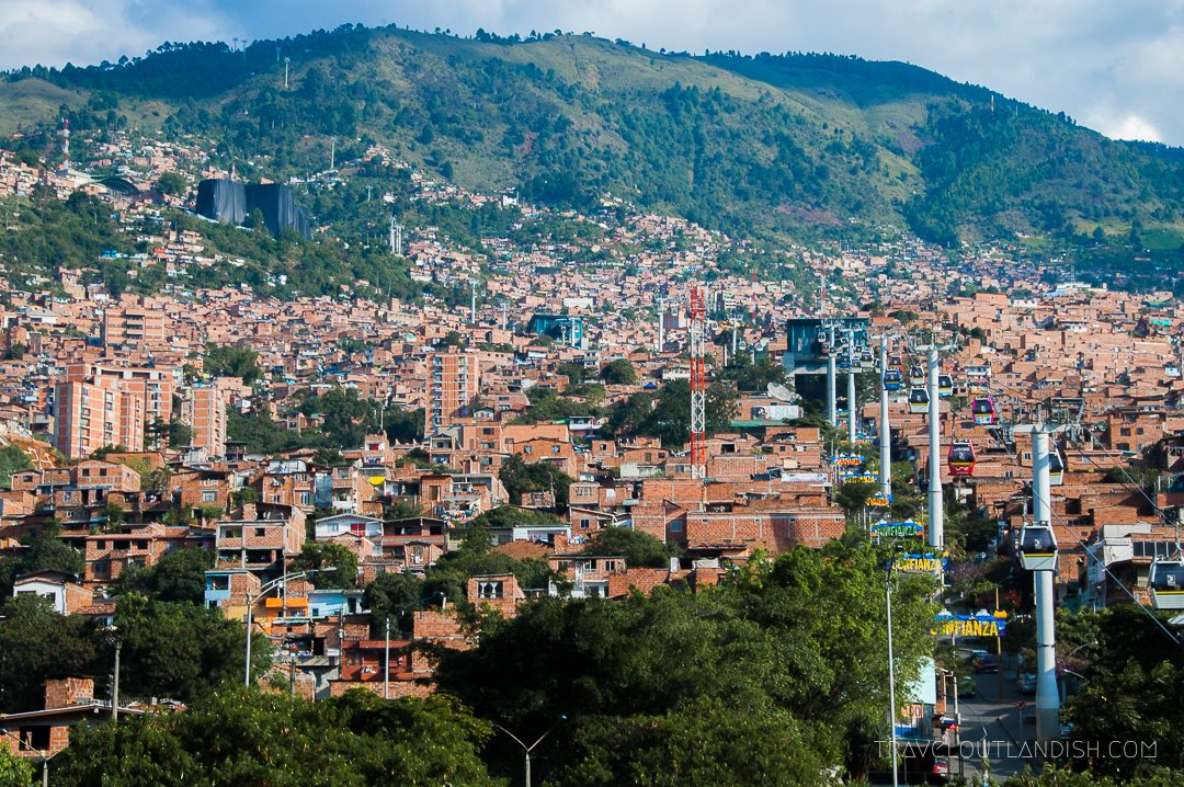 Things to do in Medellín: Views from the Teleferico