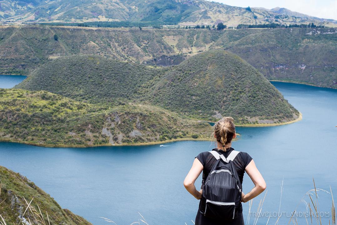 Trekking in Ecuador - Laguna de Cuicocha