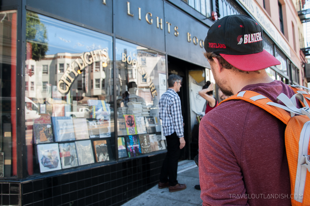 Unique Things to do in San Francisco: Check out the Banned Books at City Lights