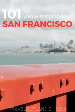 Don't get stuck in the usual tourist traps! There are tons of fun experiences and unique things to do in San Francisco. Check out our list of 101!