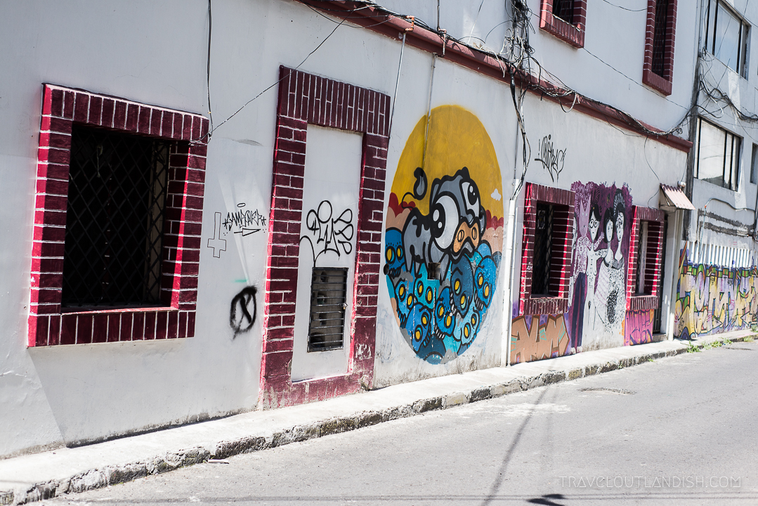 Graffiti in Ecuador - Quito Street Art