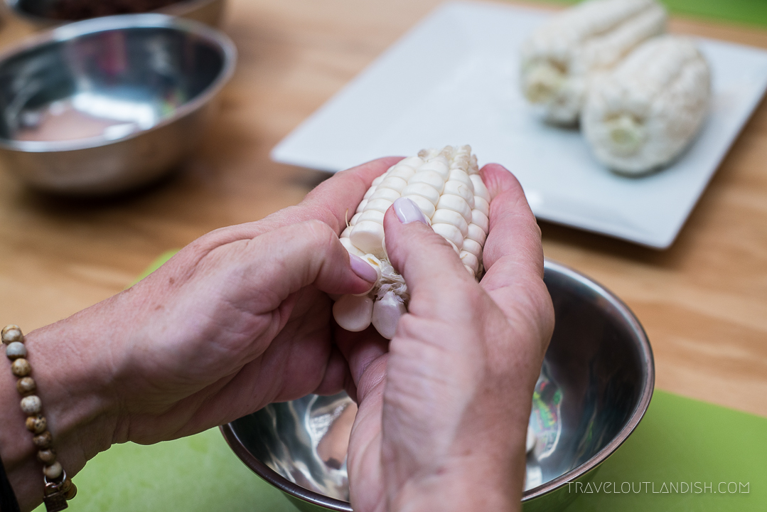 Cooking Classes in Peru - Making Humitas