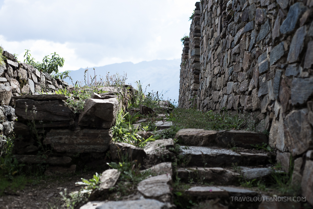 Choquequirao Ruins - Stairs at Choquequirao