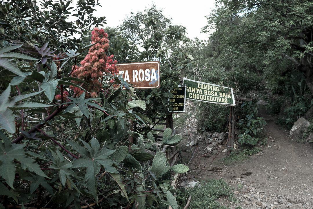 Choquequirao Trek - Santa Rosa Camp Site