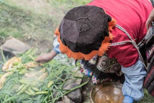 A Food Experience in Peru - Building a Peruvian Pachamanca