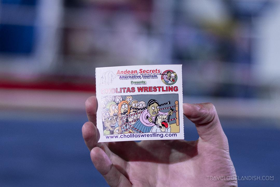 Cholitas Wrestling - Admission Ticket