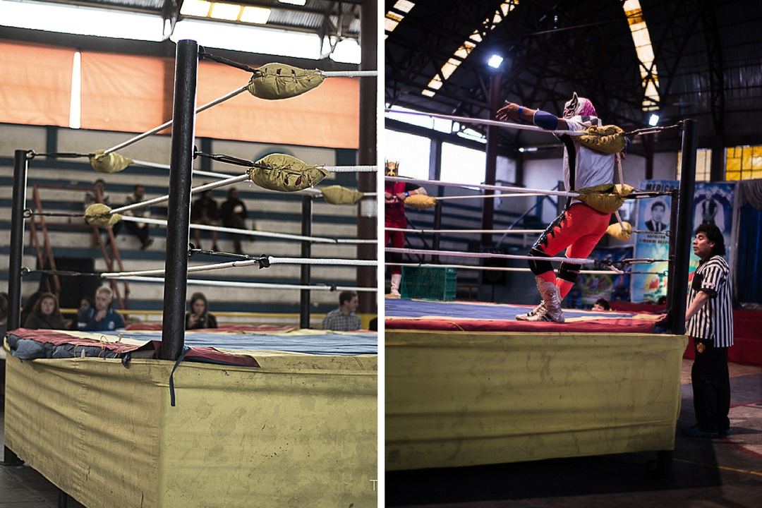 Cholitas Wrestling - Wrestling Ring