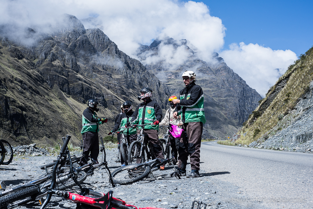 Cycling the Death Road – one of the most fun things to do in Bolivia.