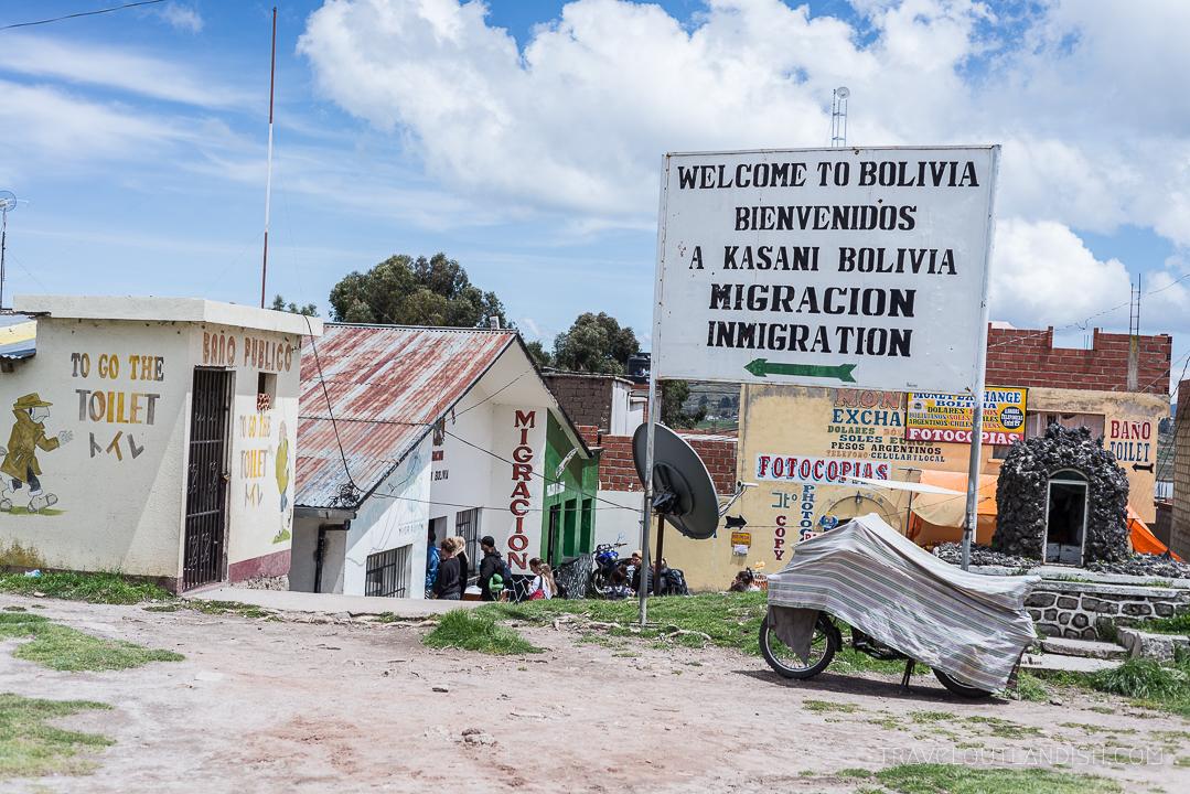 Crossing the Border - Bolivian Visas on Arrival