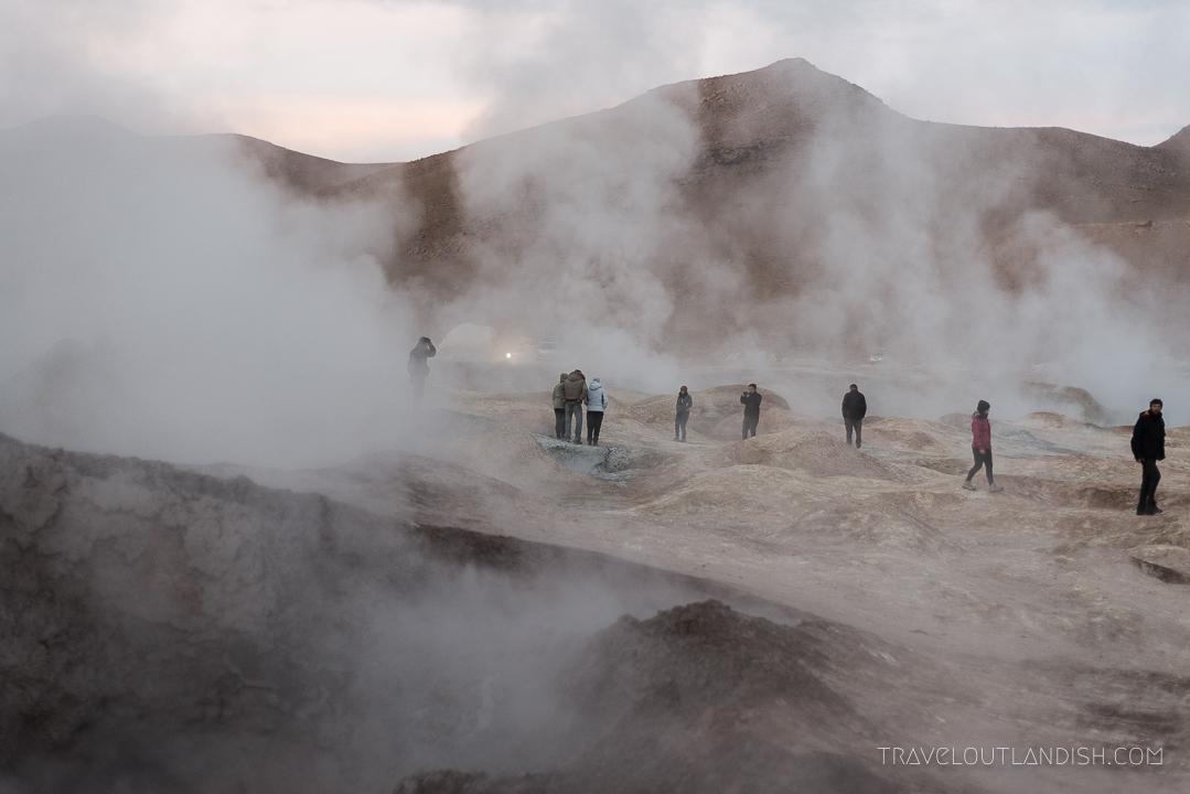Salar de Uyuni Tours - Geothermal Field