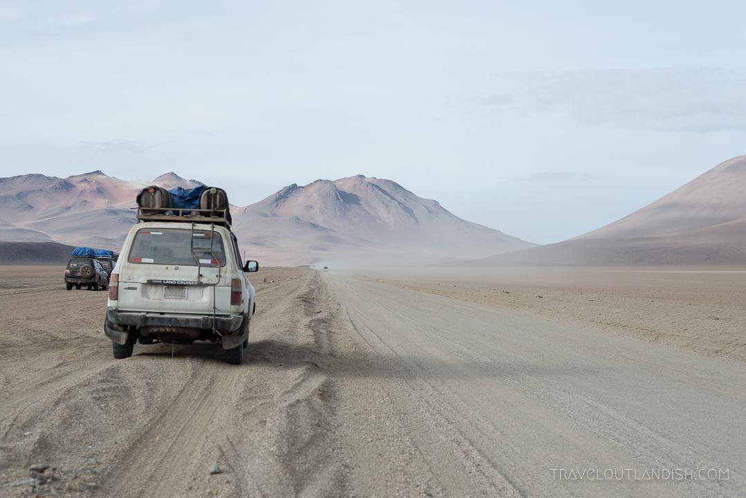 Salar de Uyuni Tours - Andes Salt Expeditions Vehicle