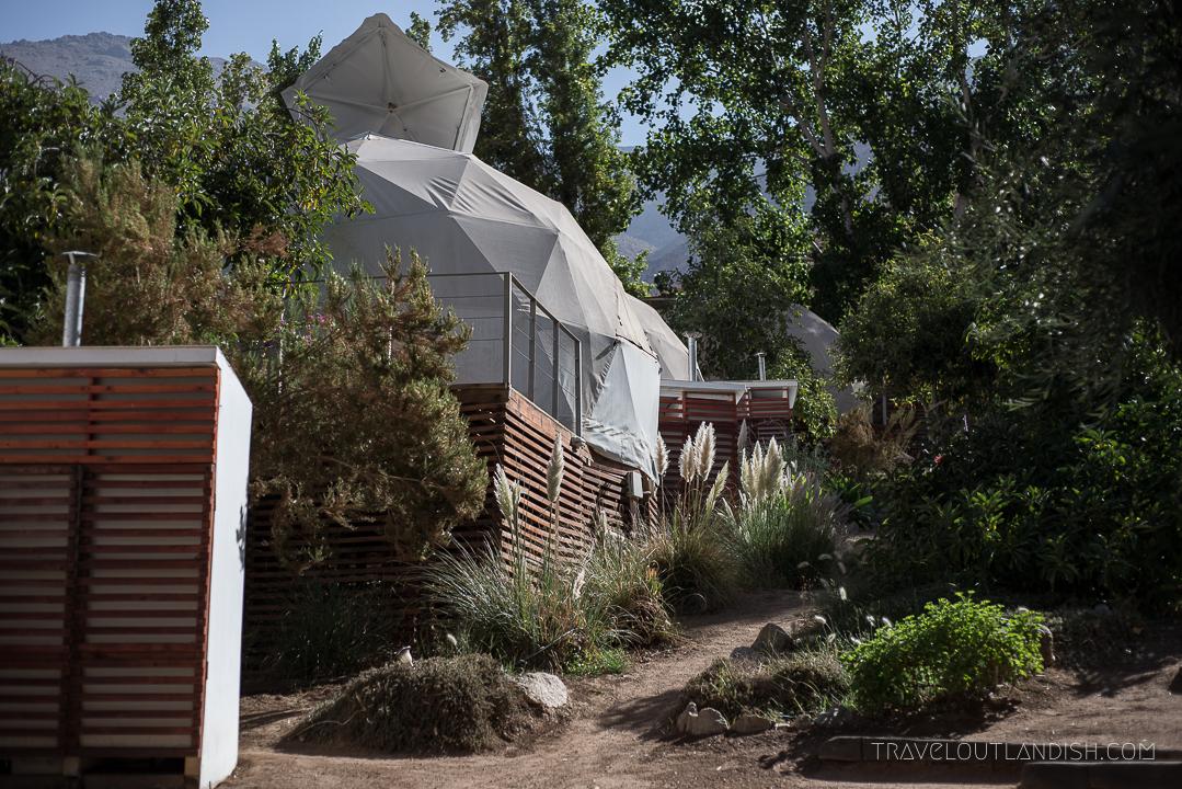 Unusual Hotels in South America - Elqui Domos