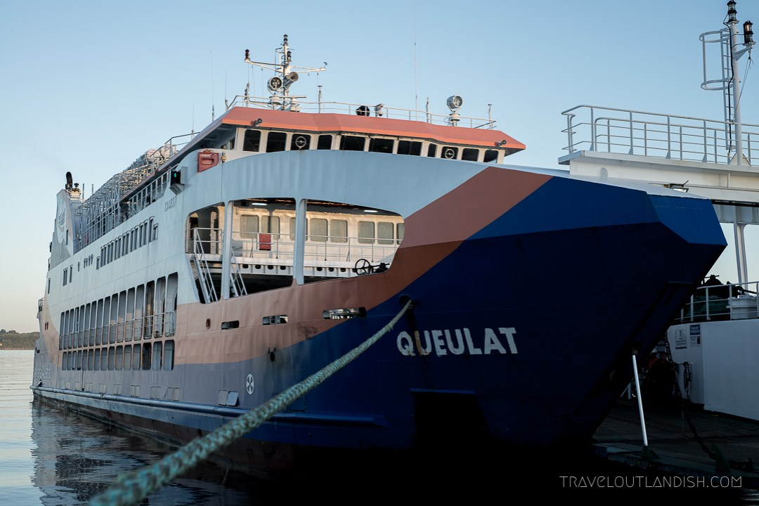 Fun Things to do in Chile - Naviera Austral Ferry