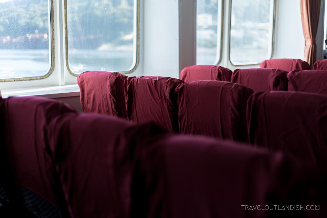 Naviera Austral Ferry - Interior Seats