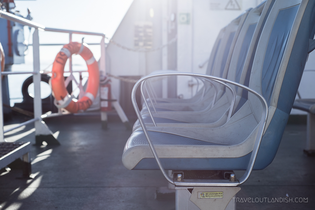 Naviera Austral Ferry - Exterior Seats