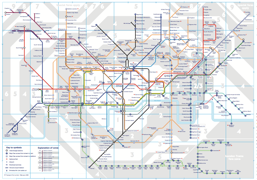 Underground Map Of London.How To Use The London Underground Without Looking Like An Idiot