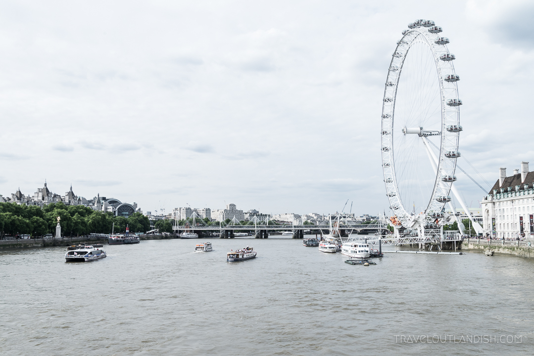 Unique Things to do in London - London Eye
