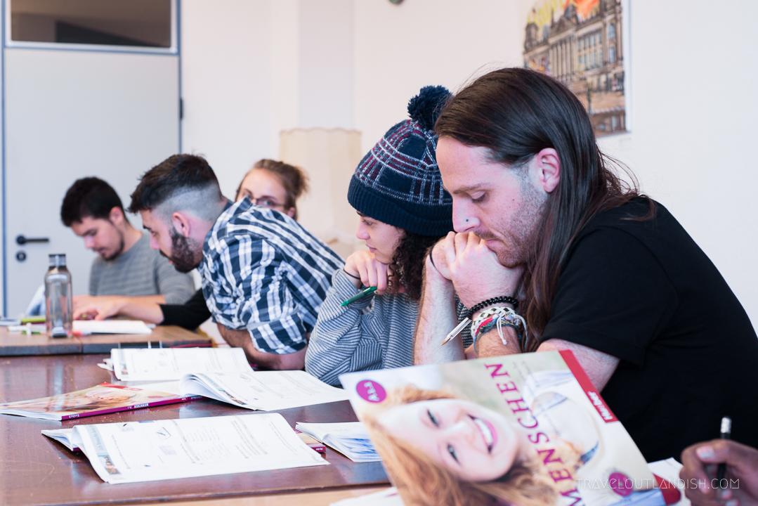 Learning German in Berlin - Speakeasy Language School Classroom