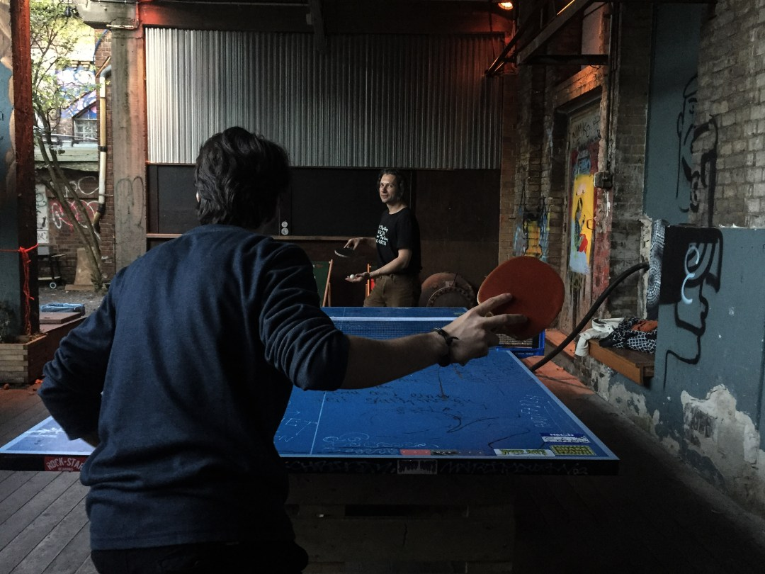 Learning German in Berlin - After Hours Ping Pong
