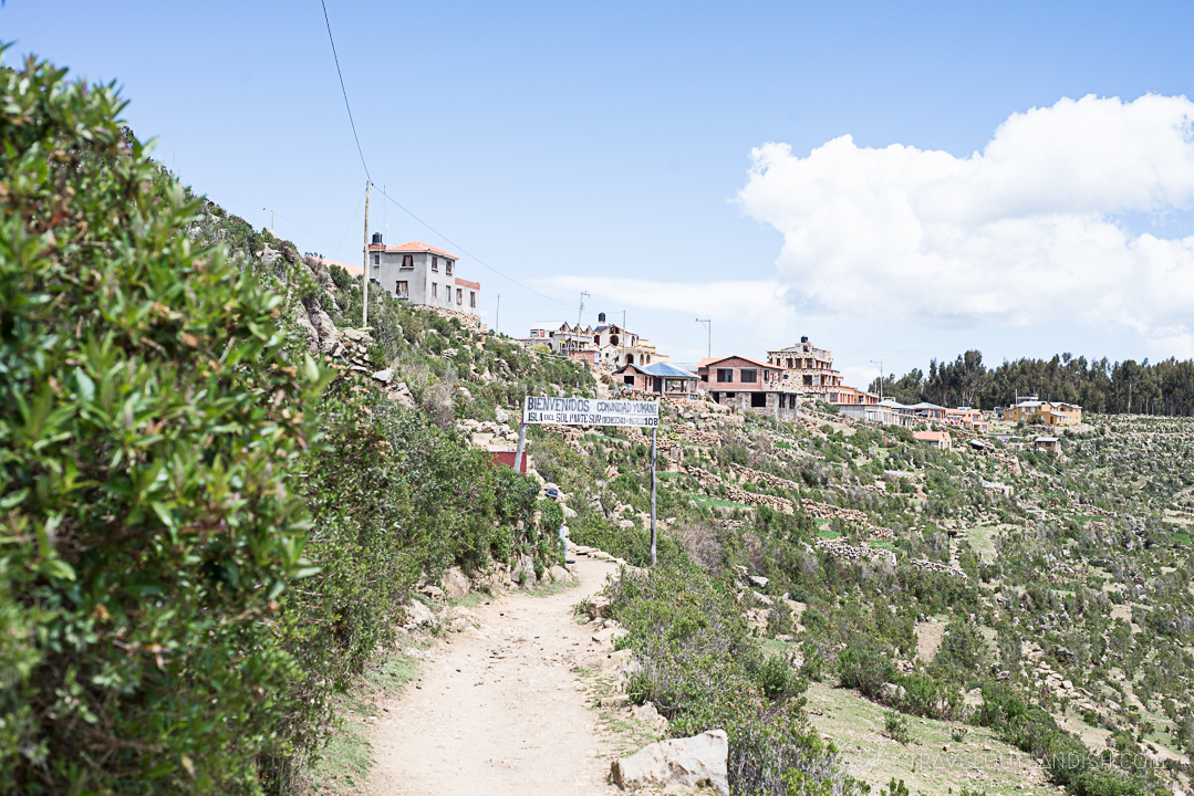 Bolivia - Community on Isla del Sol