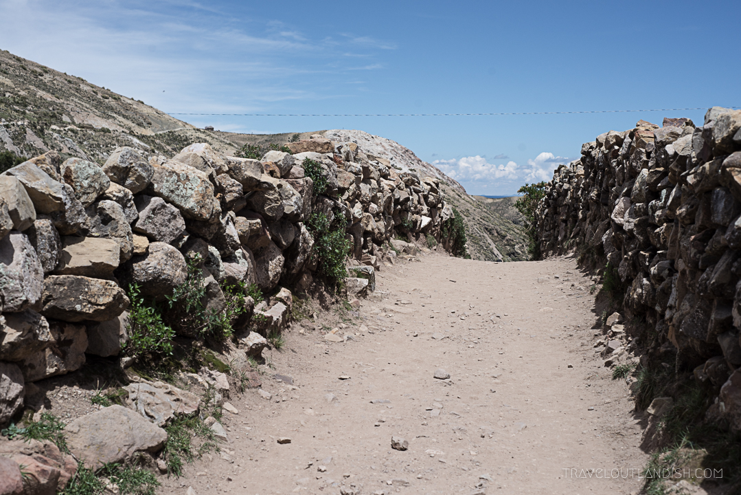 Bolivia - Pathways on Isla del Sol