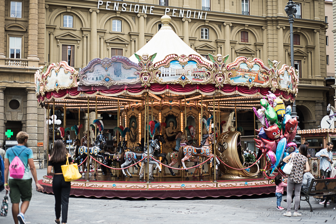Secret Florence - Street Photography at the Carousel in Florence